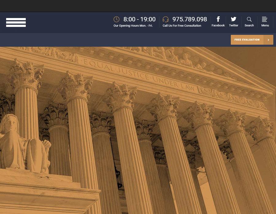lawyer webite design