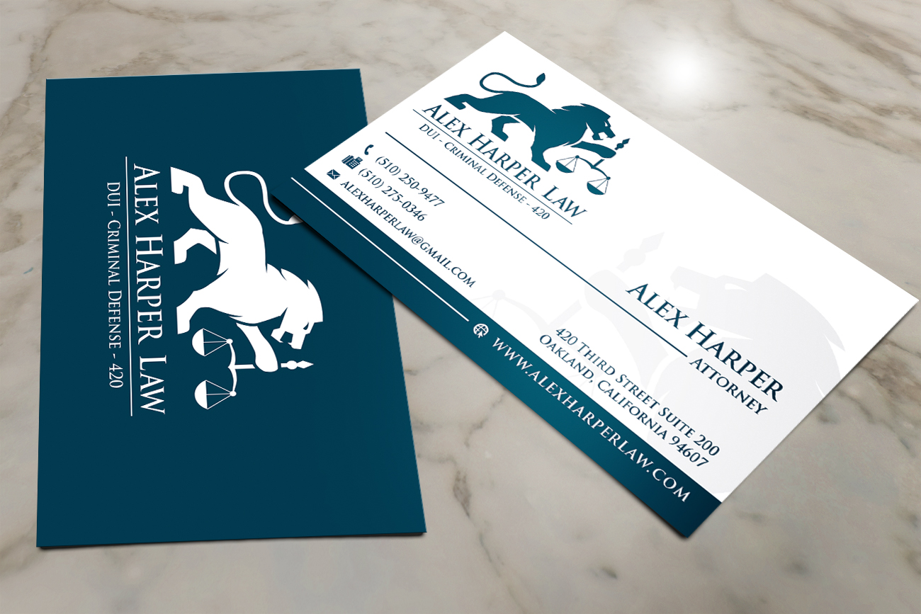 Lawyer business card attorneys legal law firms business cards law firm business card reheart Gallery