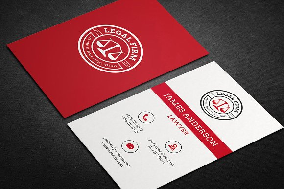 Lawyer business card attorneys legal law firms business cards law firm business cards colourmoves