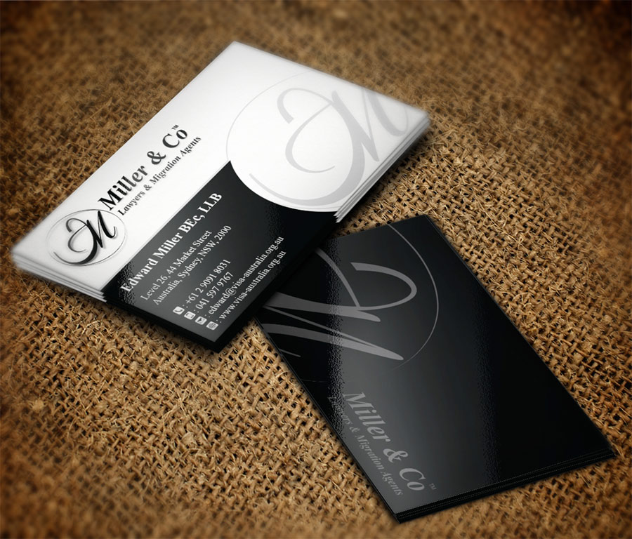 Lawyer Business Card - Attorneys, Legal & Law Firms Business Cards